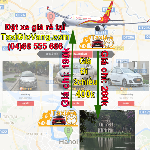 taxi 7 cho ve ha noi gia re nhat